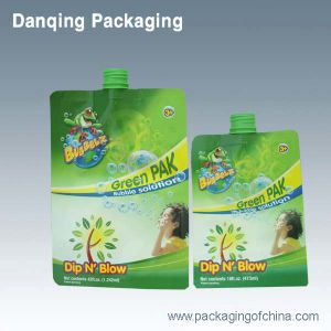 Guangdong Stand up Pouch Laundry Detergent Packaging Bag pictures & photos