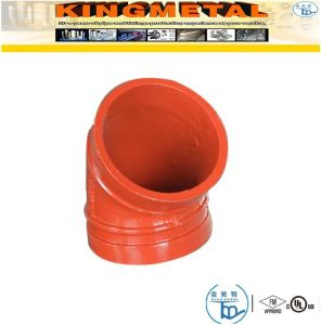 300 Psi Ductile Iron 11.25 Degree Grooved Elbow Fittings pictures & photos