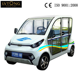 Battery 4 Seater Electric Car for Household pictures & photos