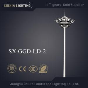 Newest 15m \18m\20m\25m\30m\35m LED High Mast Light pictures & photos