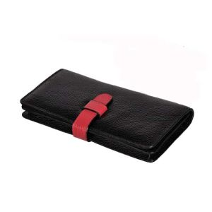 Hot Sell Genuine Leather Wallet Clamshell Deisgner Fashion Purse Bag (XQ0697) pictures & photos