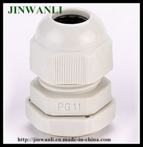 Pg11 Plastic Waterproof Fixed Cable Gland with Rubber pictures & photos