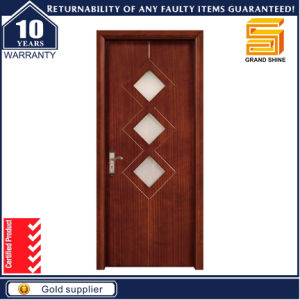 Solid Composite Wooden Interior MDF Wood Door with Frame pictures & photos