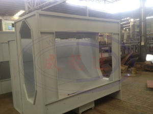 Customized Industrial Powder Coating Booth with Recover System pictures & photos