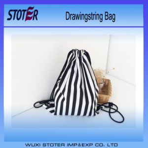 Cute Sackpack Polyester Drawstring Bag/Drawstring Backpack/Foldable Nylon Bag pictures & photos