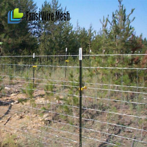 Galvanized Cattle Fence with Barb Wire pictures & photos