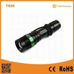 Hot Sale T820 XPE LED Bulb Adjustable Focus Most Powerful LED Flashlight pictures & photos