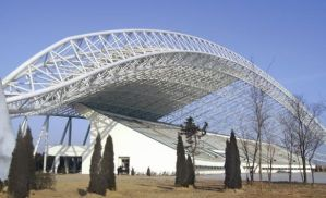 Airport Steel Structure with Large Span Roof Curved Trusses pictures & photos