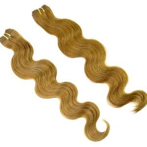 Top Grade Peruvian Virgin Hair Brown Color Body Wave pictures & photos