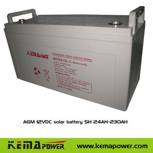 AGM 12VDC VRLA Lead-Acid Battery (SH4.5AH-230AH/12VDC) pictures & photos