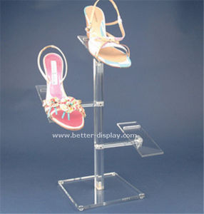 Wholesale Acrylic Shoe Store Display Racks pictures & photos