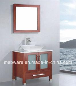 36′′ Floor Mounted Solid Wood Bathroom Vanity pictures & photos