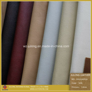 Breathable PU Sofa Leather (SF023) pictures & photos