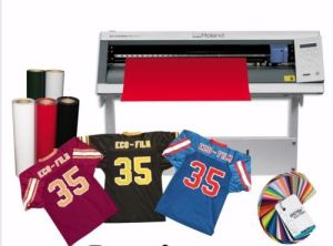 Heat Transfer Vinyl for Any Vinyl Cutter Ecofilm 60 Colors pictures & photos