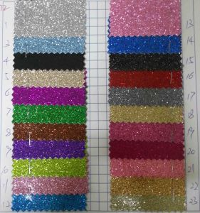 Ck-272 Shiny Smooth Touch Glitter Fabric for Wallpaper pictures & photos