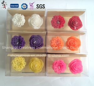 Flower Shaped Candle for Festival Decoration pictures & photos