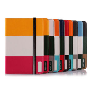 Rainbow Design Sleep/Awake Function Smart PU Case for Tablet pictures & photos