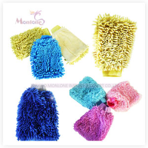 Chenille Glove, Car Cleaning Glove, Microfibre Chenille Gloves pictures & photos