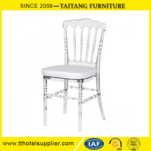 Popular French Resin Plastic Napopeon Chair pictures & photos
