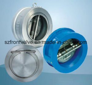 Lug Type (round) Double Disc Swing Check Valve pictures & photos