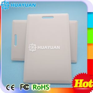 Tk4100 125kHz Wiegand RFID Clamshell smart ID Card pictures & photos