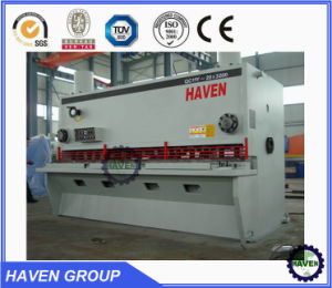QC11y-16X6000 Hydraulic Guillotine Shearing Machine, Steel Plate Cutting Machine pictures & photos