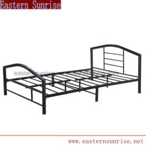 Unique Design Metal Double Queen Bed for Hotel pictures & photos