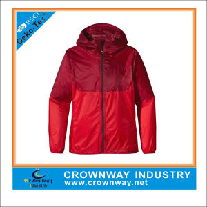 Mens Brand Waterproof Polyester Windbreaker Jacket pictures & photos