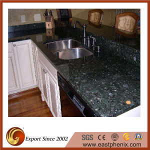Butterfly Green Perfabricated Granite Countertop for Kitchen pictures & photos
