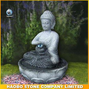 Wholesale Granite Buddha Statue Fountain pictures & photos