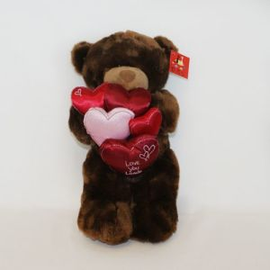 Plush Faux Fur Love Bears pictures & photos