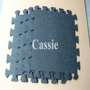 Hot Sale EPDM Recycled Gym Equipment Rubber Flooring Cover, Crossfit Fitness Flooring, Gymnasium Flooring pictures & photos
