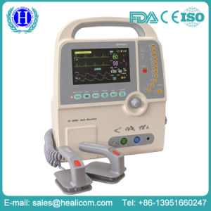Hot Sale Portable Biphasic Defibrillator with Monitor Automated External Defibrillator pictures & photos