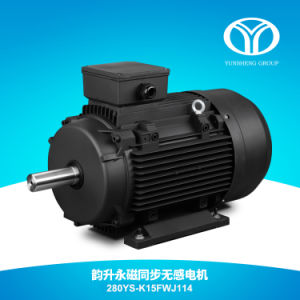 AC Permanent Magnet Synchronous Motor 132kw 1500rpm pictures & photos
