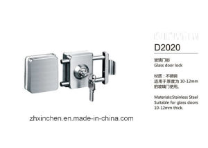Xc-D2020 High Quality Glass Door Lock pictures & photos