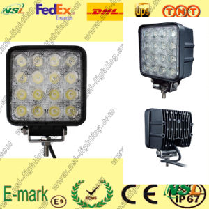 Automotive LED Work Light 48W 4 Inch 12V 24V for Cars Trucks Working pictures & photos