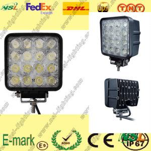 LED Work Light, 16PCS*3W LED Work Light, 12V DC LED Work Light for Trucks pictures & photos