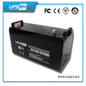 Low Self-Discharge Deep Cycle VRLA Battery for UPS & Security System pictures & photos