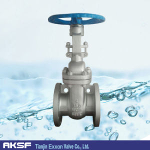 API600/ ANSI Wedge Type Non Rising Stem Flange Gate Valve in Carbon Steel/ Stainle Steel for Water, Gas, Oil, Stem pictures & photos