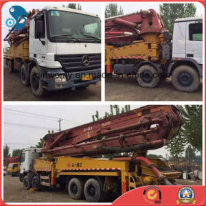 45m Available-Engine/Pump Used 2007 Isuzu Chassis Sany Concrete Pump Truck pictures & photos