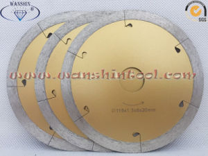 Fast Cutting Diamond Saw Blade for Ceramic Tile pictures & photos