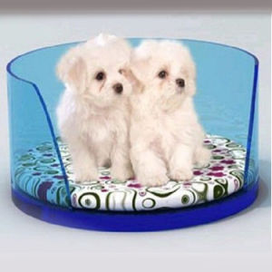 Customized Design Acrylic Pet Bed Lounge Studios Acrylic Pet Cushion Bed pictures & photos
