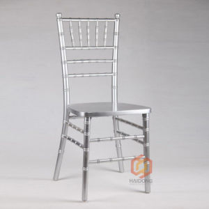 Silver Color Chinese Locust Solid Wood Outdoor Chiavari Events Chair pictures & photos