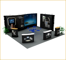 Portable Modular Fabric Trade Show Stand pictures & photos