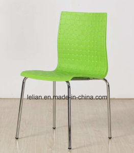 Stacking PP Plastic Chair Dining Chair Colored Plastic Chair pictures & photos