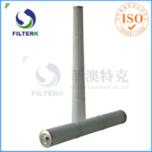 Filterk Thread Bottom Dust Collector Filter Cartridge pictures & photos