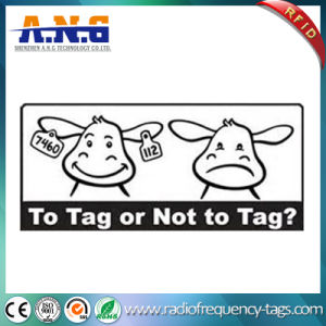 UHF RFID Ear Tags / Radio Frequency Identification ISO RFID Tags for Animals pictures & photos