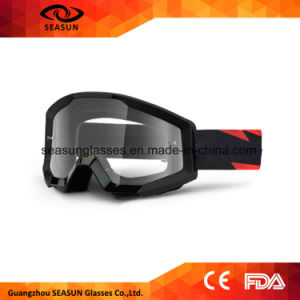 Latest Model Factory Price Custom Logo Tear off Motocross Goggles with Nose Guard pictures & photos