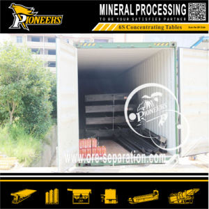 Stone Sand Ore Dressing Machine Mineral Shaking Mining Table pictures & photos