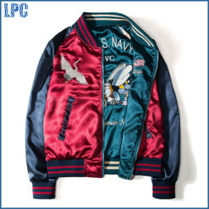 Custom High Quality Embroidered Fashion Short Jacket pictures & photos